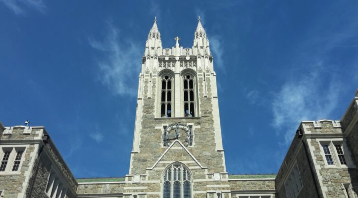 Boston College in all its glory