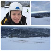 Billeder fra min skitur i søndags :)